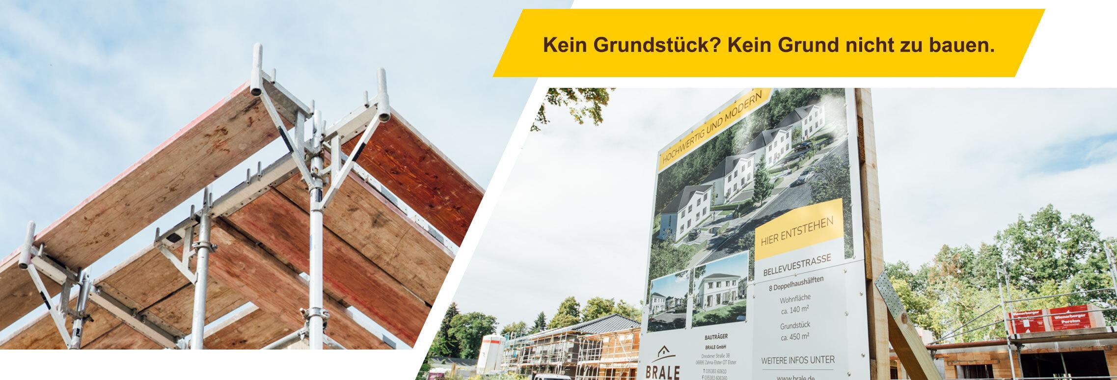 Kein Grundstück? Kein Grund nicht zu bauen. | BRALE Bau GmbH