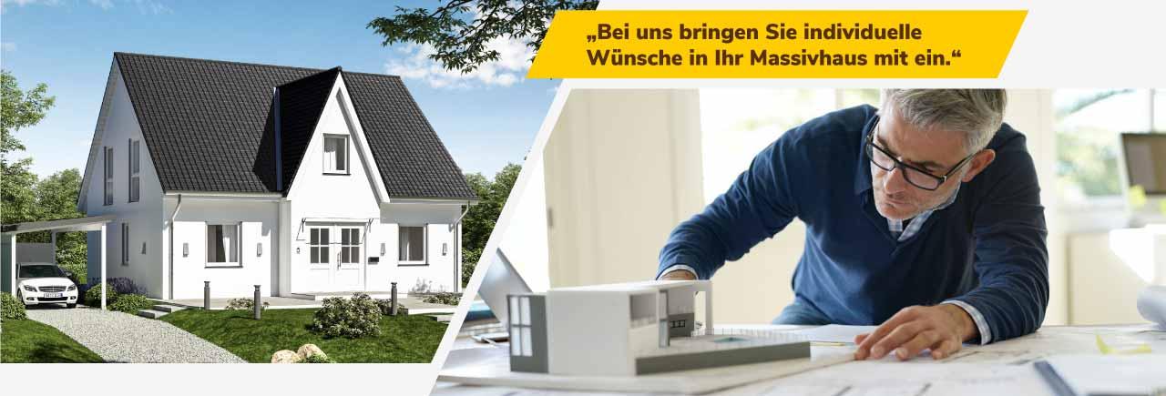 Individuelle Planung für Ihren Hausbau