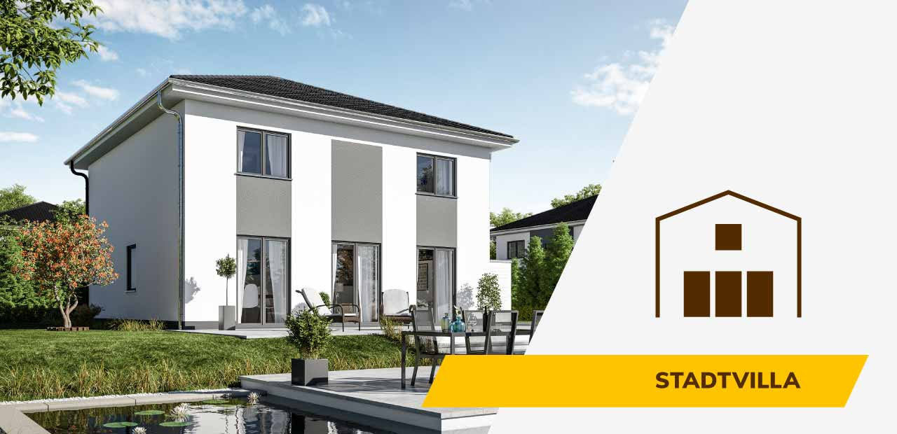 Stadtvilla-Bild und Icon der BRALE Bau GmbH