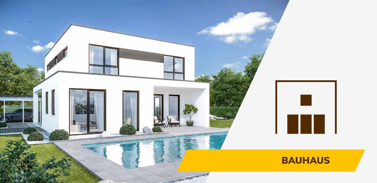 Bauhaus-Bild und Icon der BRALE Bau GmbH