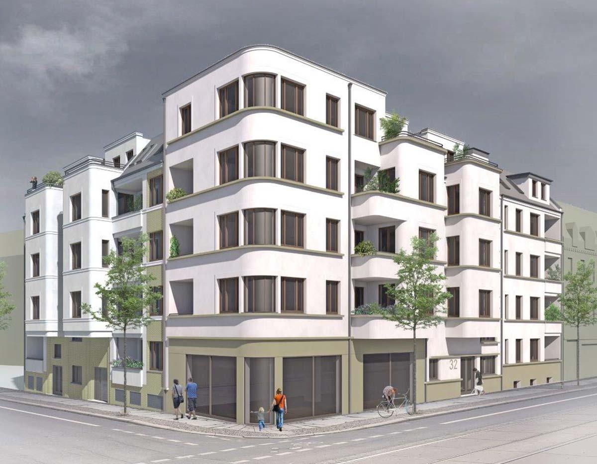 Bauprojekt in Planung in Leipzig   BRALE Bau GmbH